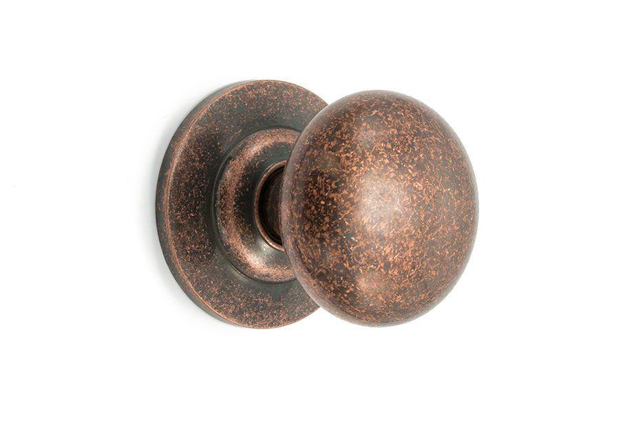 Pomo puerta cobre